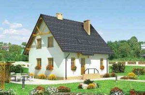частный дом из газоблока