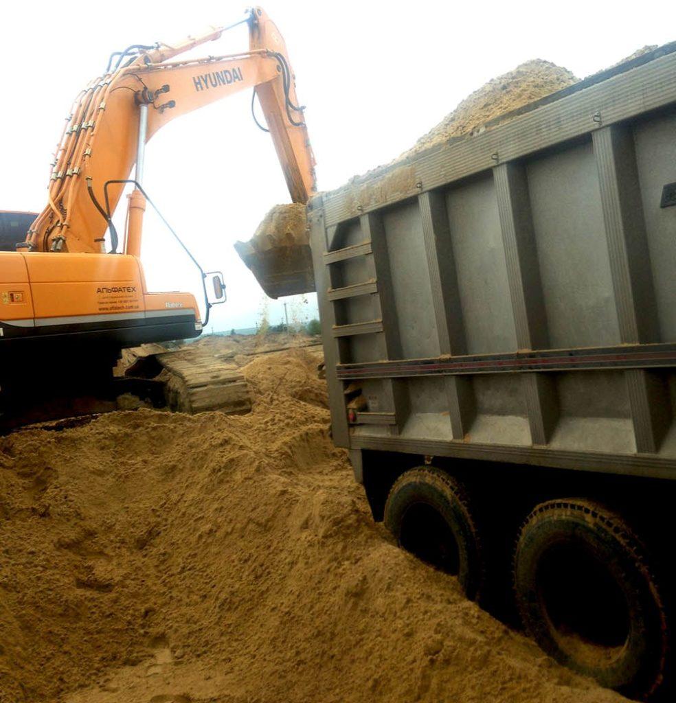Песок в Харькове с доставкой